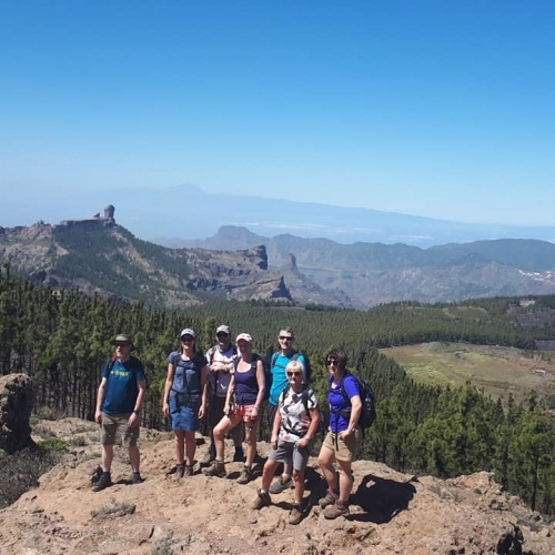 Group Gran Canaria walking