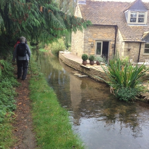 Guided walking in Cotswolds - Lower Slaughter