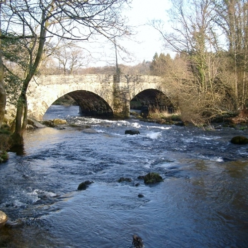 Guied walking in Lake District - River Brathay