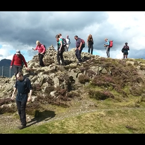 Guided walking in the Lake District - Claiffe Heights