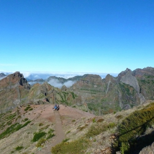 Guided walking in Madeira - Pico Grande area