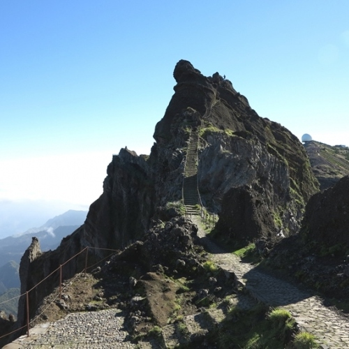 Guided walking in Madeira - volcanic peaks