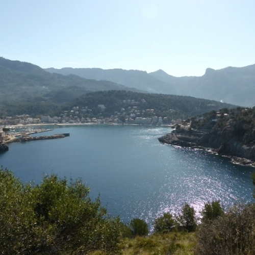 Guided walking in Majorca - Port Soller Bay