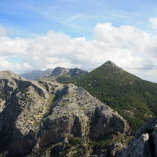 Guided walking in Majorca - L'Ofre mountain