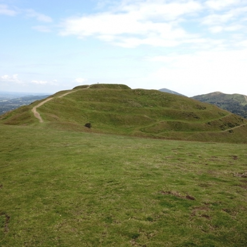 Guided walking in Malvern Hills - British Camp