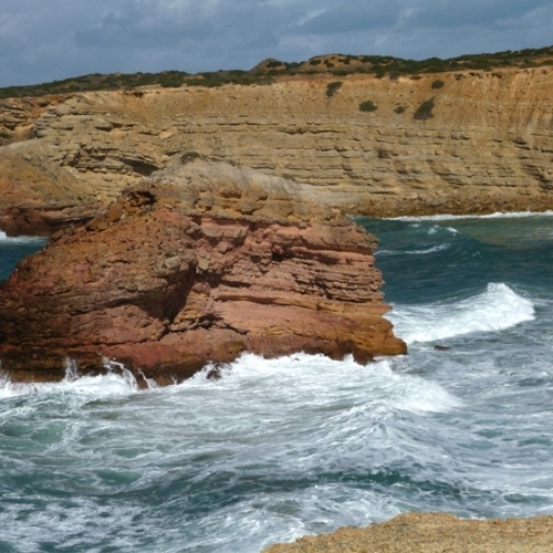 Guided walking in Portugal's Algarve - sea and rocks  all the way