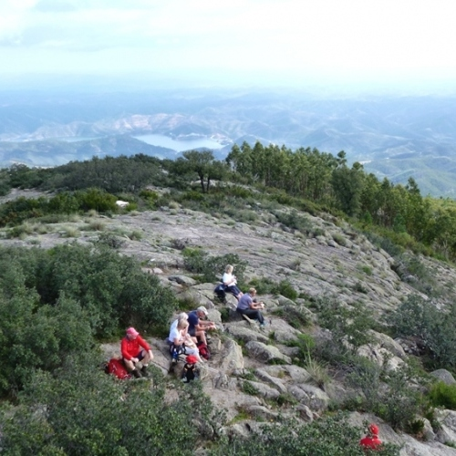 Guided walking in Portugal's Algarve - Monchique Mountains - Picota