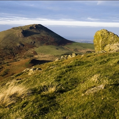 Guided walking in Shropshire Hills - Hope Bowdler Hill