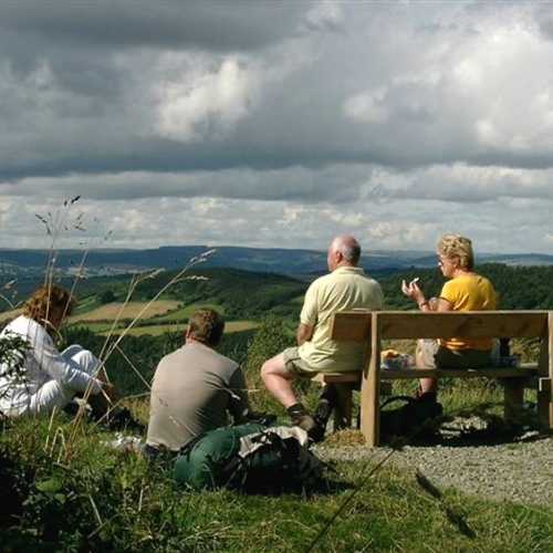 Guided walking in Shropshire Hills - High Vinnals on the Mortimer Trail