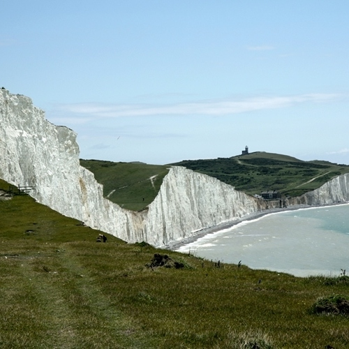 South Downs - Seven Sisters from coast path