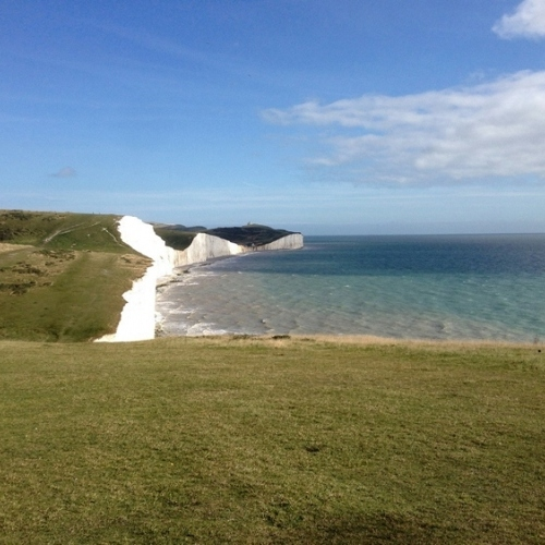 South Downs - Seven Sisters from a distance
